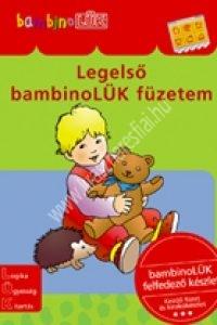 BambinoLÜK sorozat 3-5 éveseknek – Legelsõ bambinoLÜK füzetem