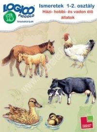 Logico Piccolo -Házi-, hobbi- és vadonélő állatok - Ismeretek 1-2. osztály