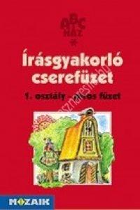 Vékonyné Purgel Henriett:Írásgyakorló cserefüzet – 1. osztály piros füzet