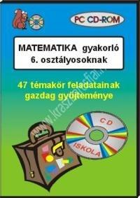 Matematika gyakorló 6. osztályosoknak – PC CD-ROM