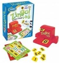Zingo 1-2-3 Olvasási és számolási készséget fejlesztő játék