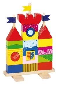 Montessori vár 27 db-os - Készségfejlesztő játék (GK58915KP)