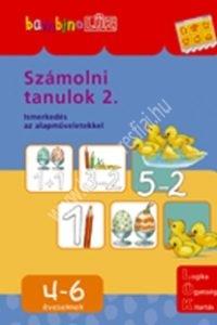 BambinoLÜK - Számolni tanulok 2. Ismerkedés a műveletekkel 4-6 éveseknek