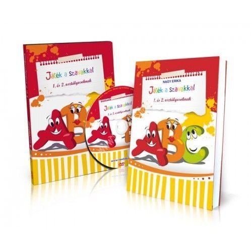 Játék a szavakkal 1. és 2. osztályosoknak DVD + könyv