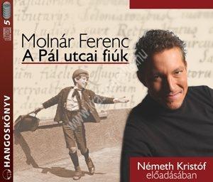 Molnár FerencA Pál-utcai fiúk Hangoskönyv CD