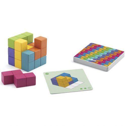 krasznar-es-fiai-fejleszto-jatek-cubissimo-logikai-jatek-fejtoro-jatek