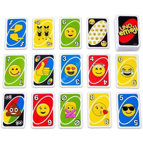 Emoji-uno-kartyajatek-arckifejezesek