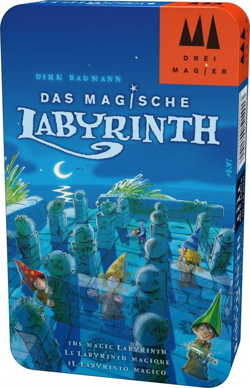 Az elvarázsolt labirintus - fémdobozos kiadás Társasjáték