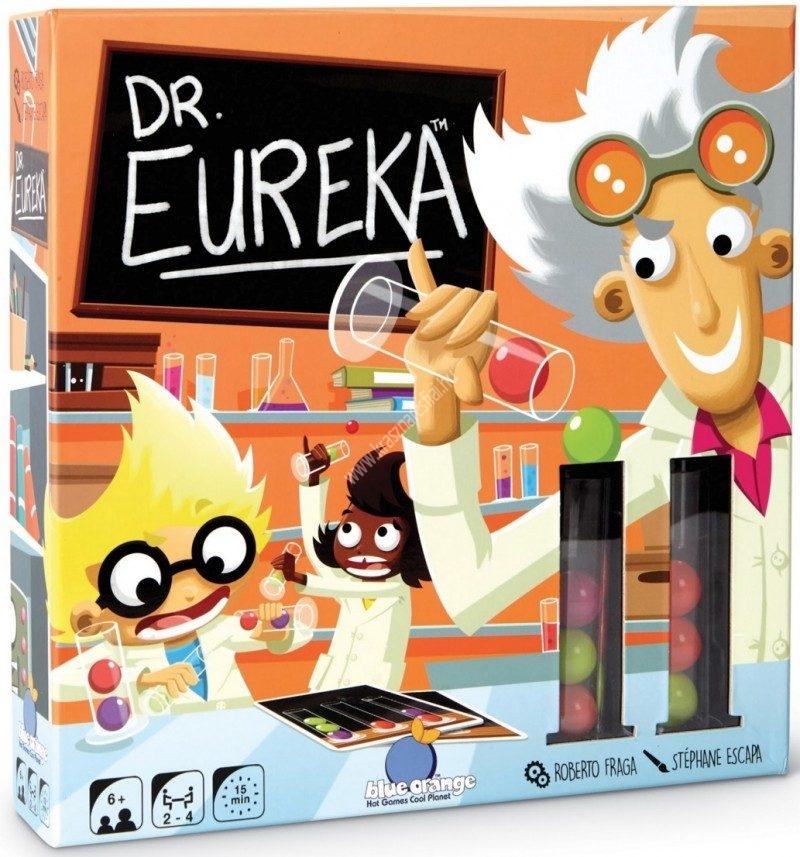 Dr. Euréka gyorsasági társasjáték