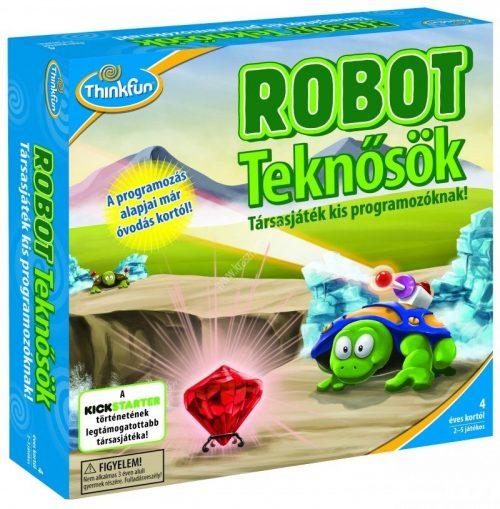 Robot teknősök Logikai fejlesztő játék