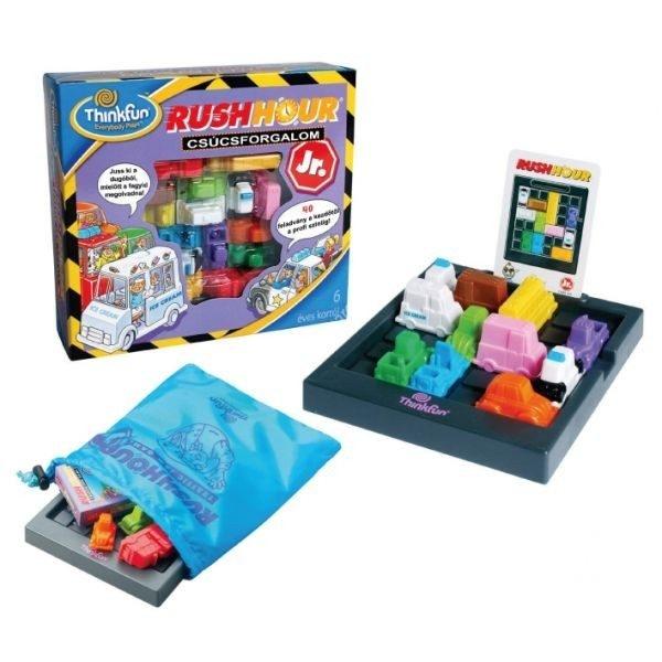 Rush hour Csúcsforgalom Junior logikai játék