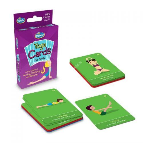 Yoga card game Jóga kártyajáték