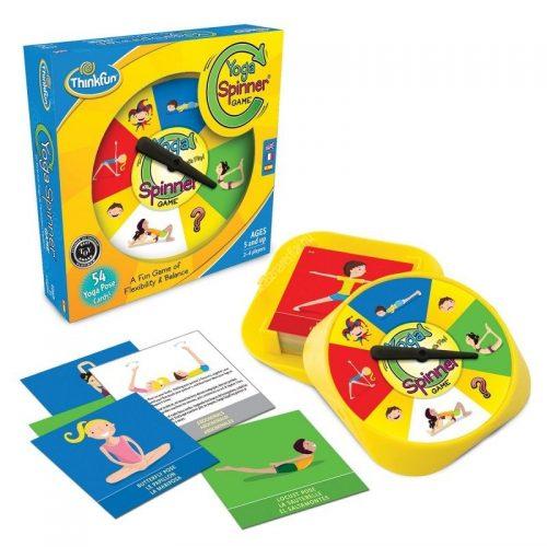 Yoga spinner game - Jóga társasjáték