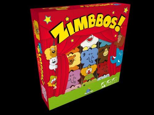 Zimbbos Tér- és formafelismerő játék