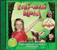 Fehérné Farkas Ibolya : Erdő-mező állatai játékok, dalok, mondókák CD - Képességfejlesztő foglalkoztató óvodásoknak