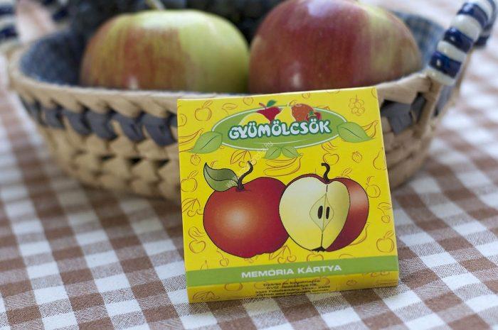 Memória kártya Gyümölcsök