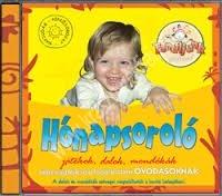 Fehérné Farkas Ibolya : Hónapsoroló játékok, dalok, mondókák CD - Képességfejlesztő foglalkoztató óvodásoknak