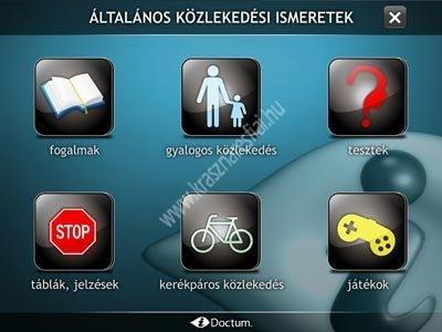 Általános közlekedési ismeretek KRESZ CD iDoctum