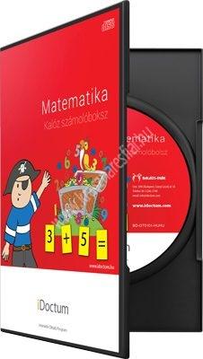 Matematika: Kalóz számolóboksz CD iDoctum