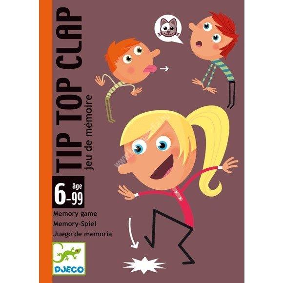 Tip Top Clap kártyajáték Cselekvés, memória