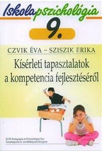 Czvik É. – Sziszik E. : Kísérleti tapasztalatok a kompetencia fejlesztéséről