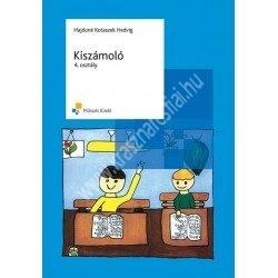 Hajduné Kotaszeg Hedvig : Kiszámoló – A mechanikus számolási készség fejlesztése 4. osztály