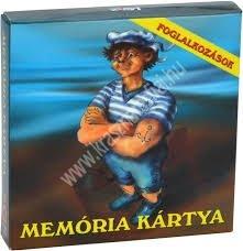 Memória kártya Foglalkozások