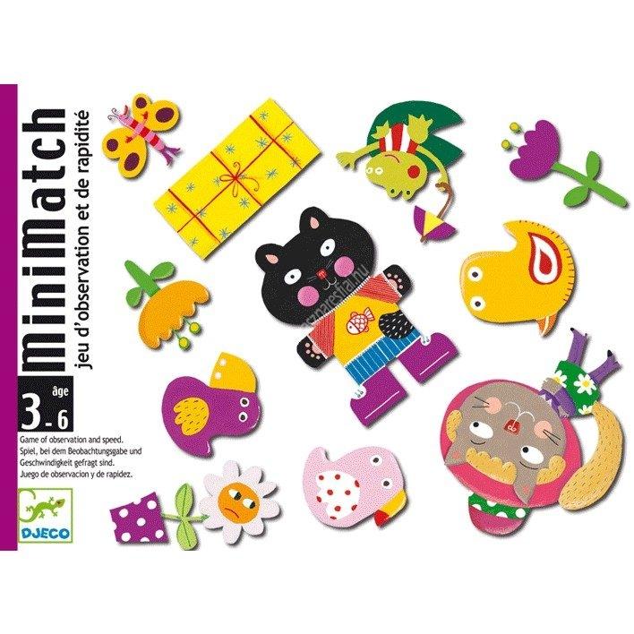 Minimatch Memóriafejlesztő kártyajáték