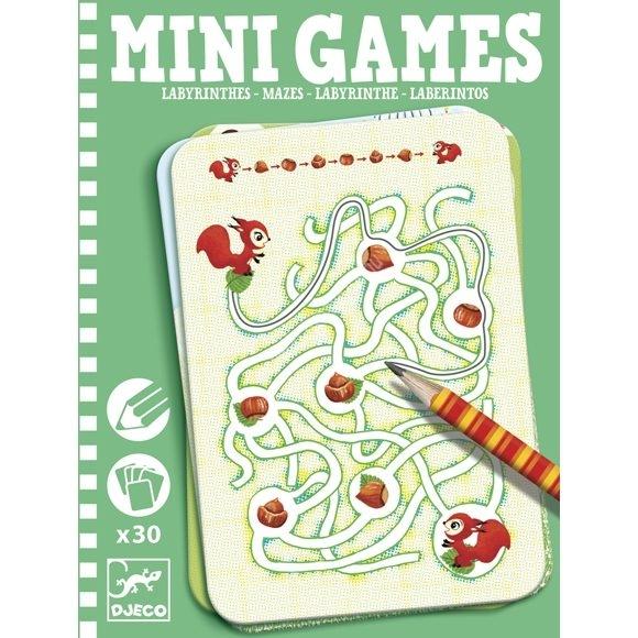 Mini játékok Labirintusok (5324)