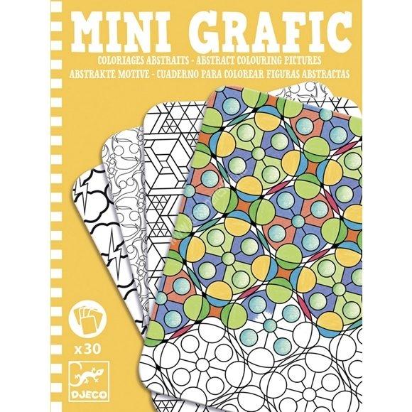 Mini Grafic Absztrak minták színező készlet
