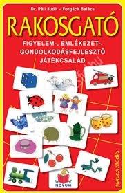 Dr. Páli Judit : Rakosgató Figyelem-, emlékezet-, gondolkodásfejlesztő játék