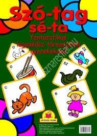 Szótagséta Logopédiai társasjáték gyerekeknek