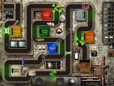 Szelektív hulladékkezelés: Játék a gyárban CD iDoctum Touch