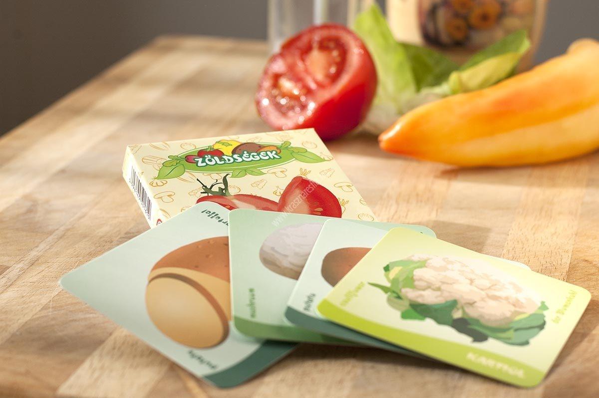 Memória kártya Zöldségek
